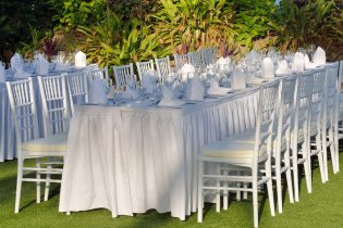 chair cover rental baltimore fabric dining factors to consider when selecting a party company rentals wedding decor
